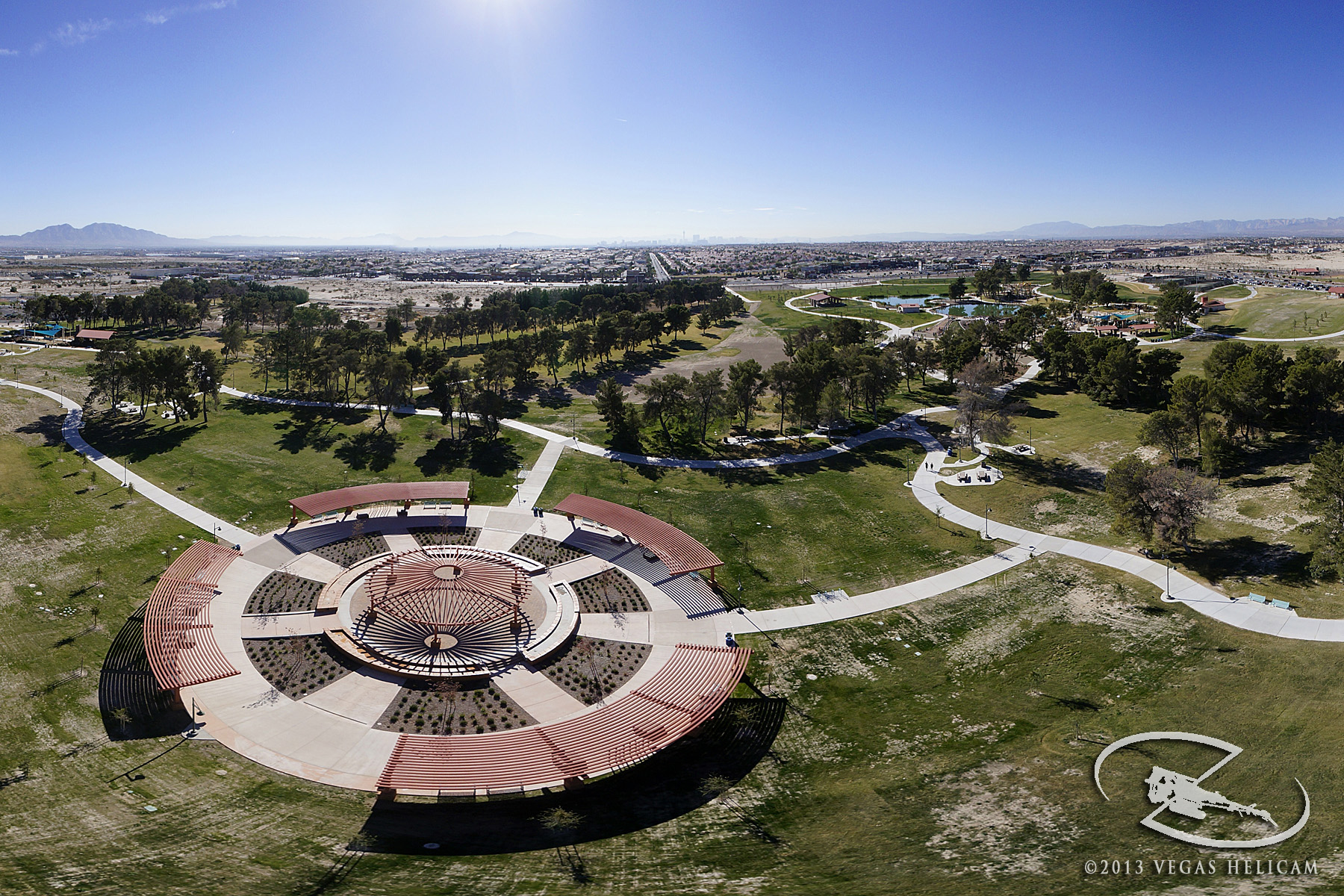 Aerial Photo:  Central Plaza