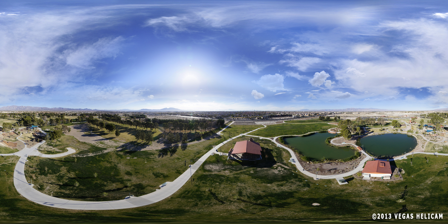 360° Aerial Panorama:  Lagoon Lodge at Craig Ranch Regional Park