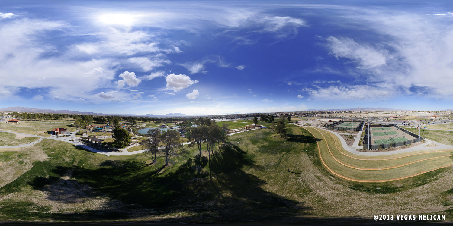 360° Aerial Panorama: The Terrace at Craig Ranch Regional Park