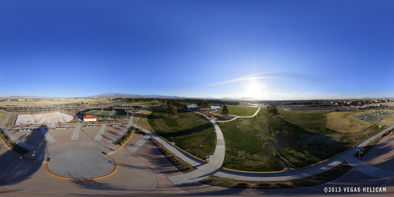 360° Aerial Panorama:  The Plaza at Craig Ranch Regional Park
