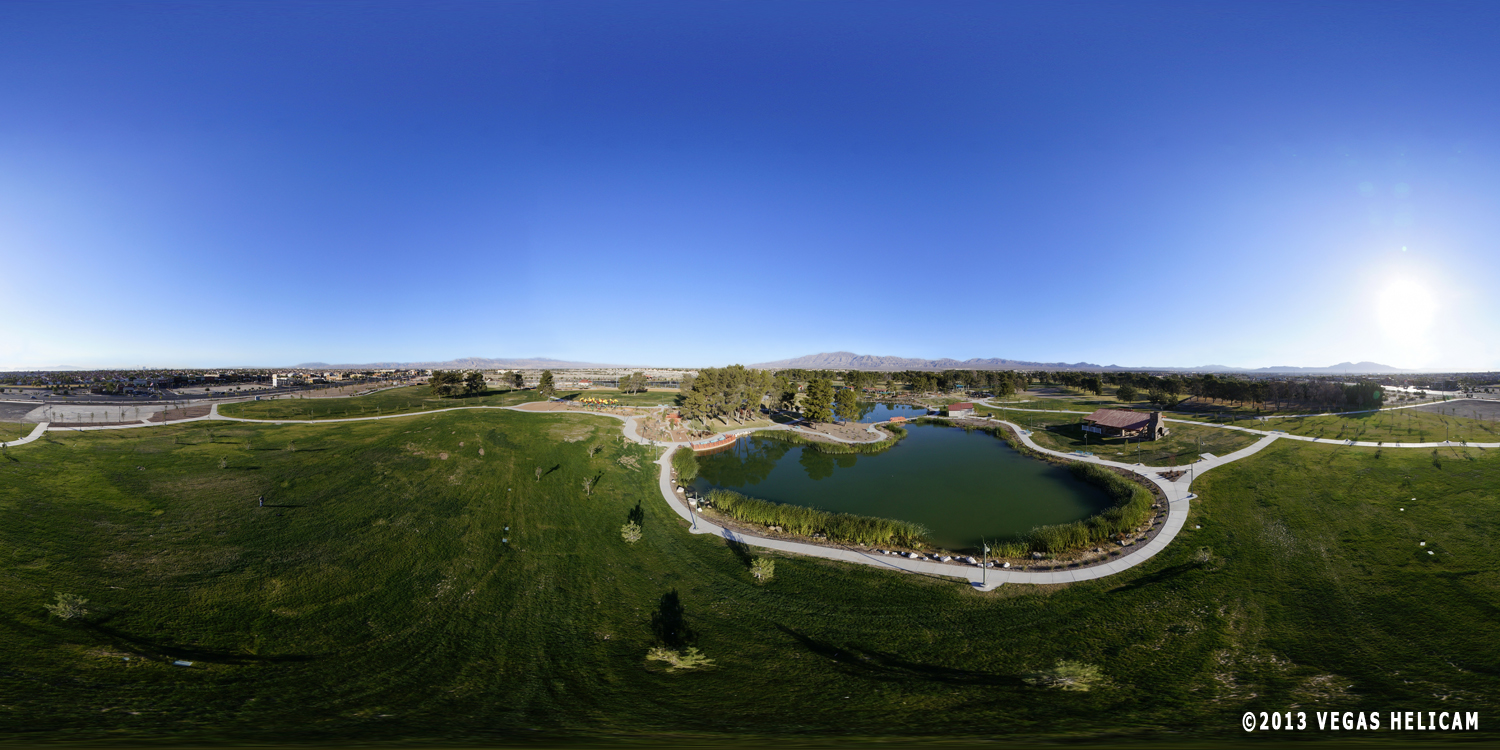 360° Aerial Panorama:  The Lagoon at Craig Ranch Regional Park