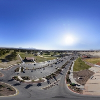 360° Aerial Panorama:  The Windmill at Craig Ranch Regional Park