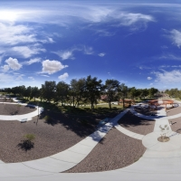 360° Aerial Panorama: Garden Plaza at Craig Ranch Regional Park
