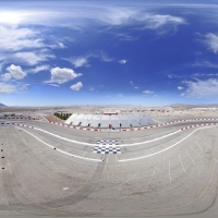 360° Aerial Panorama:  The Bullring at Las Vegas Motor Speedway