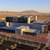 Aerial Photo:  VA Medical Center Las Vegas