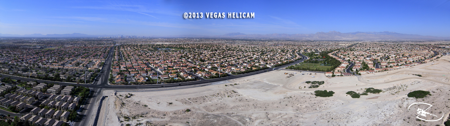 360° Aerial Panorama: North Las Vegas