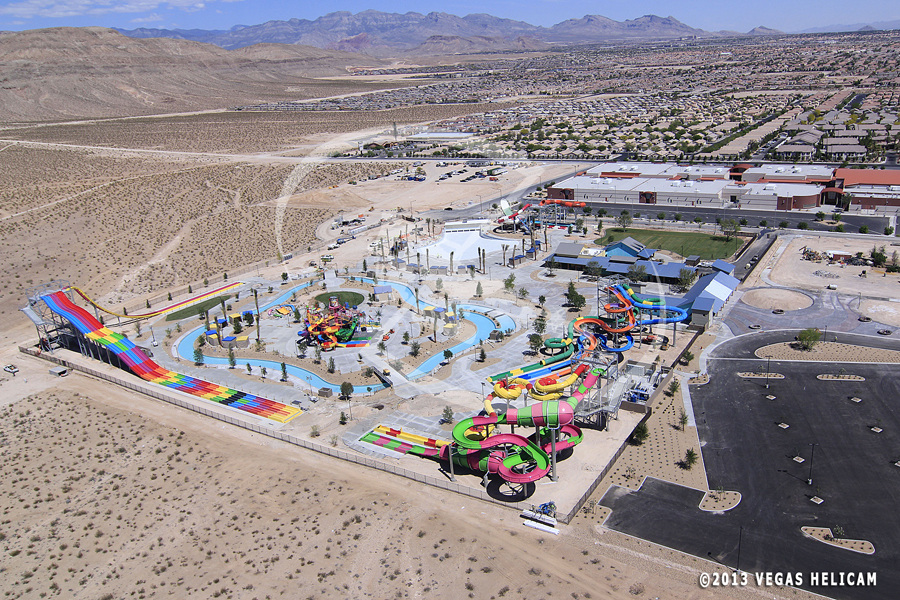 Aerial Photo:  Wet 'n' Wild Water Park Las Vegas