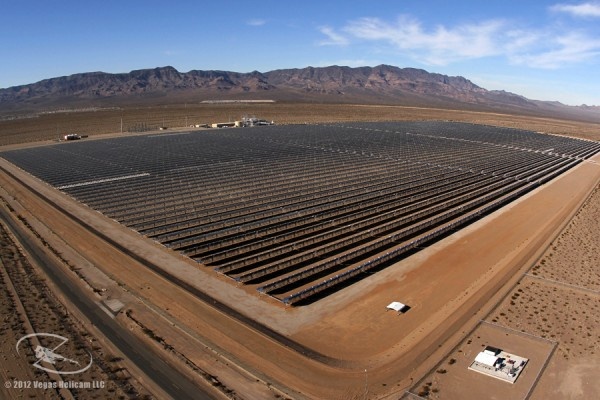 PHOTO: DEC 28 Nevada Solar One Las Vegas