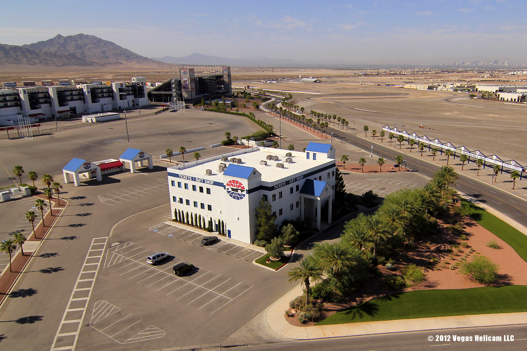 Rc Helicopter Aerial Photography Shoot At Las Vegas Motor