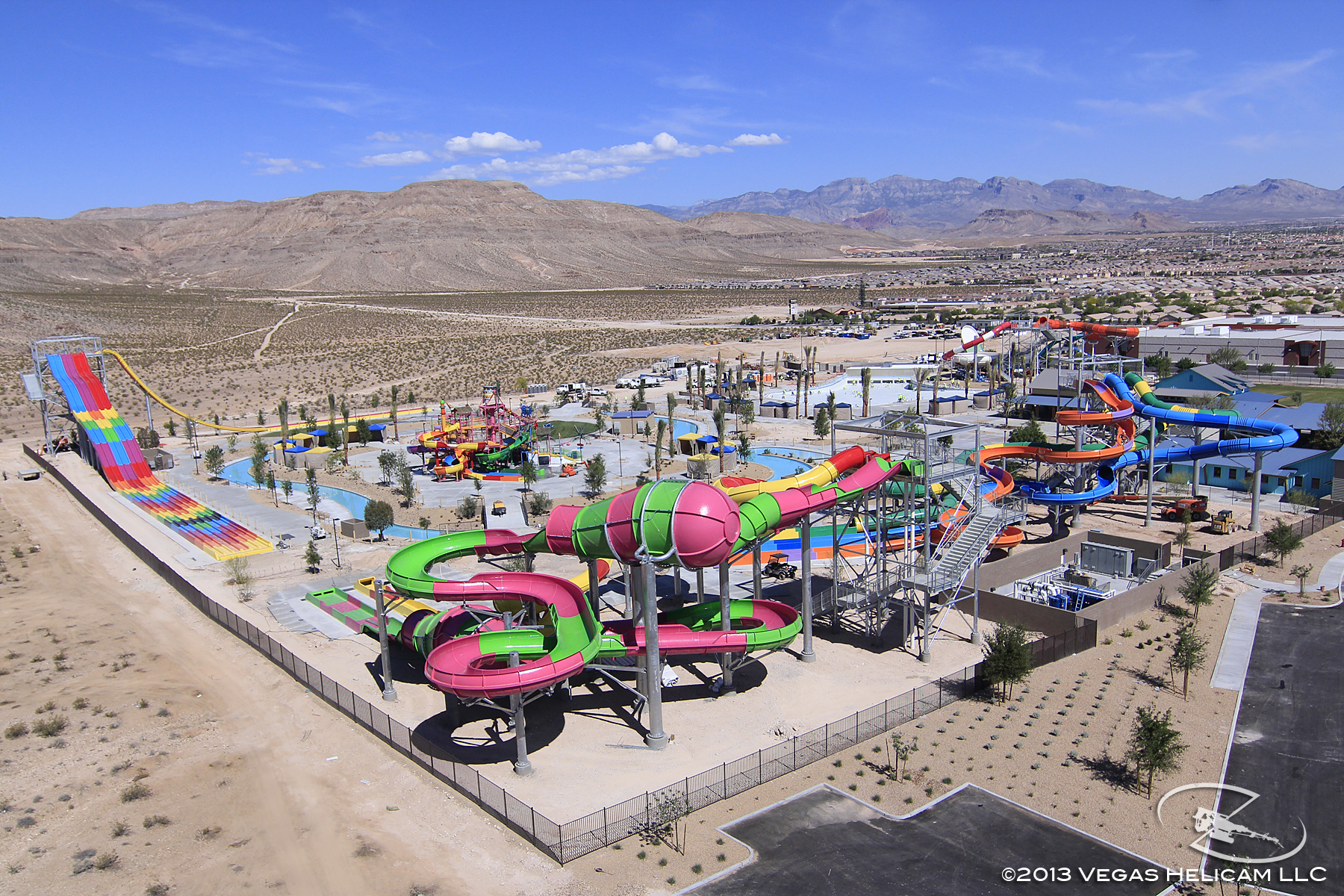 Aerial Photo of Wet 'n' Wild Las Vegas