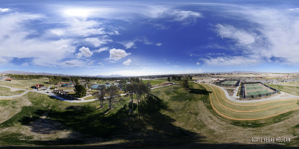 The Terrace:  Click this image for a 360º Aerial Tour of the Craig Ranch Regional Park