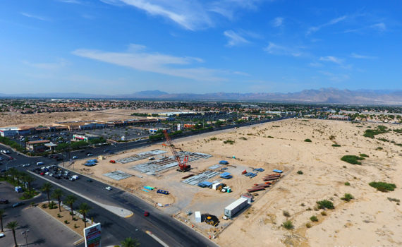 "20 August 2016: A general view of the Dignity Health St. Rose Dominican hospital construction project in North Las Vegas, Nevada."" width=""900"" height=""600"" /> 20 August 2016: A general view of the Dignity Health St. Rose Dominican hospital construction project in North Las Vegas, Nevada."